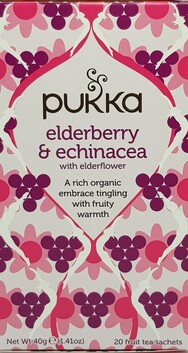 Elderberry & Echinacea Tea Bags