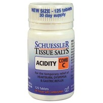 Scheusslar Salts C Acidity